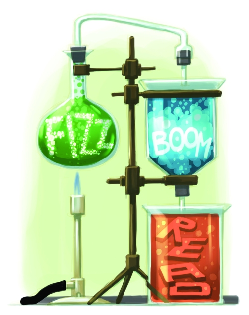 Fizz, Boom, Read - Children's Summer Reading Program. Image is copyrighted. CSLP.